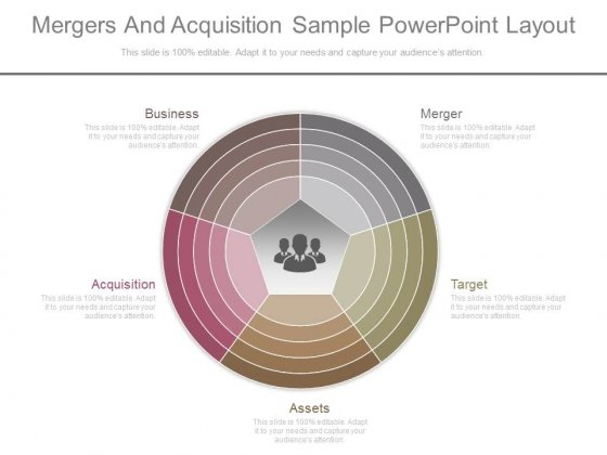 Mergers And Acquisition Sample Powerpoint Layout