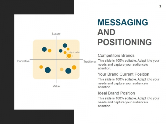 Messaging And Positioning Template 1 Ppt PowerPoint Presentation Background Images