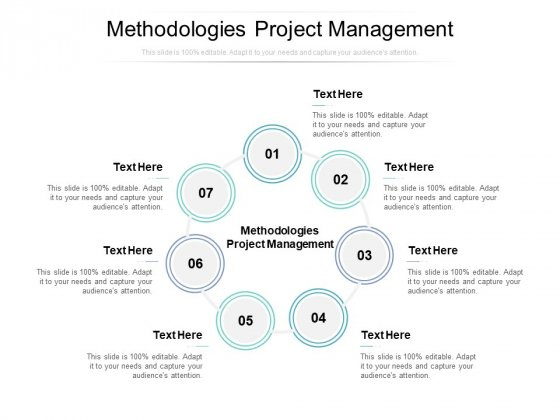 Methodologies Project Management Ppt PowerPoint Presentation Ideas Templates Cpb