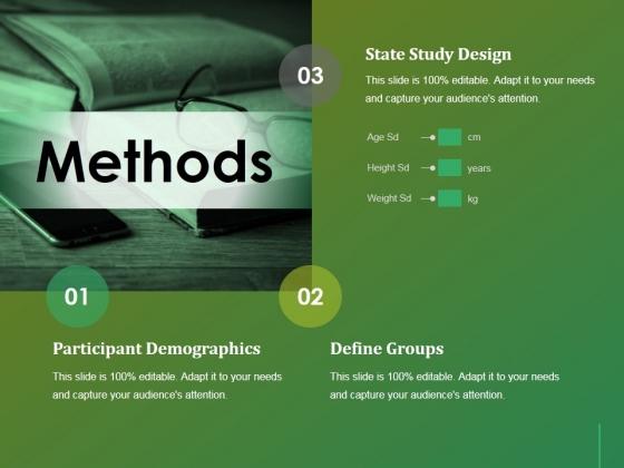 Methods Ppt Powerpoint Presentation Infographics Summary