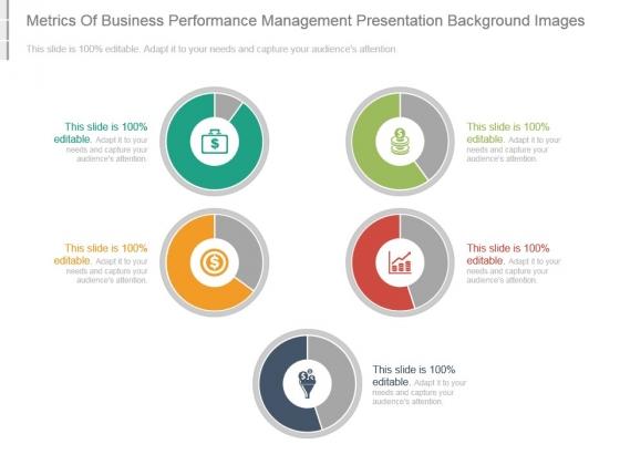 Metrics Of Business Performance Management Presentation Background Images