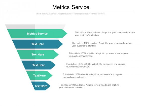 Metrics Service Ppt PowerPoint Presentation Gallery Show Cpb