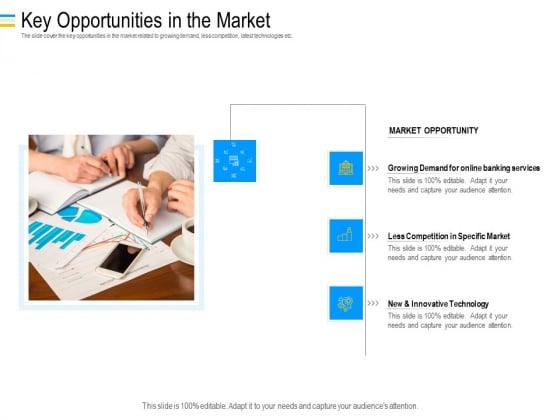 Mezzanine Debt Financing Pitch Deck Key Opportunities In The Market Mockup PDF