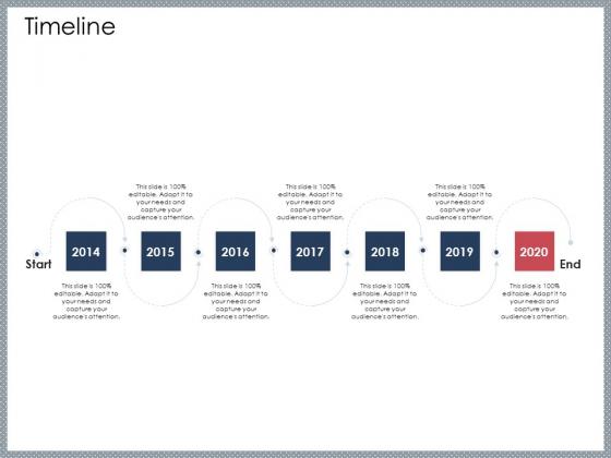 Mezzanine Venture Capital Funding Pitch Deck Timeline Demonstration PDF