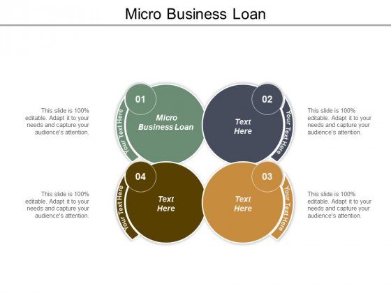 Micro Business Loan Ppt PowerPoint Presentation Layouts Maker Cpb