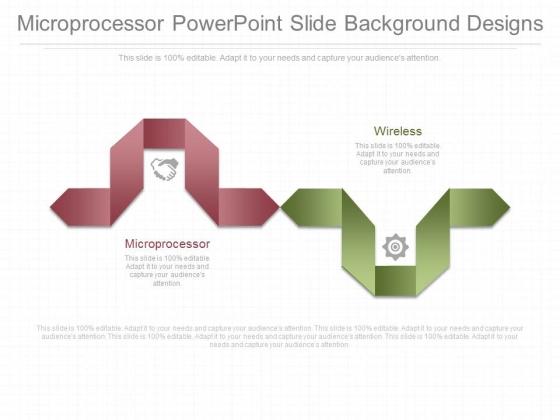 Microprocessor Powerpoint Slide Background Designs