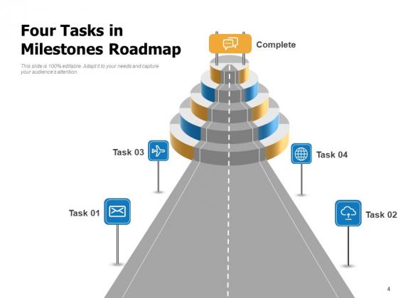 Milestone_Charting_Roadmap_Business_Goals_Ppt_PowerPoint_Presentation_Complete_Deck_Slide_4
