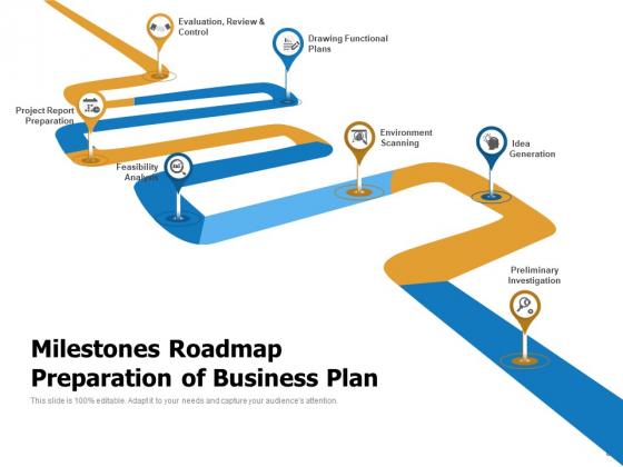 Milestone_Charting_Roadmap_Business_Goals_Ppt_PowerPoint_Presentation_Complete_Deck_Slide_8