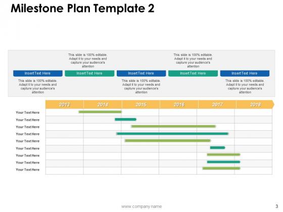 Milestone_Plan_Ppt_PowerPoint_Presentation_Complete_Deck_With_Slides_Slide_3
