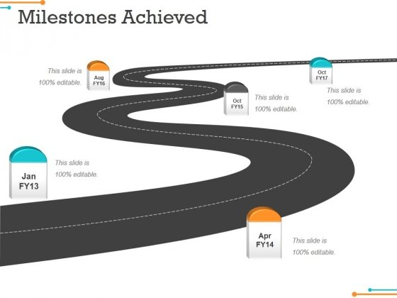 Milestones Achieved Template 1 Ppt PowerPoint Presentation Tips