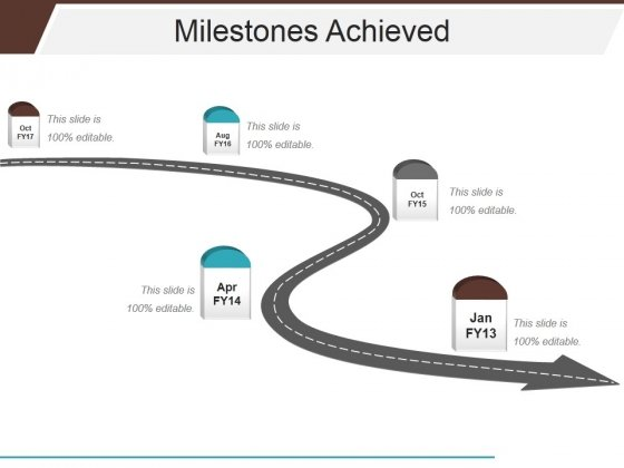 Milestones Achieved Template 2 Ppt PowerPoint Presentation Summary Picture