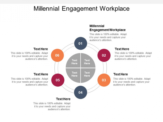Millennial Engagement Workplace Ppt PowerPoint Presentation Infographic Template Format Cpb Pdf