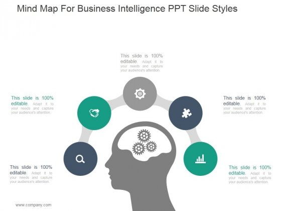 Mind Map For Business Intelligence Ppt PowerPoint Presentation Tips