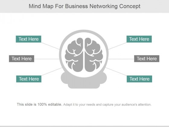 Mind Map For Business Networking Concept Ppt Powerpoint Presentation