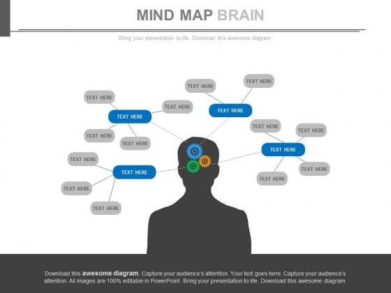 Mind Maps To Define Ideas And Agendas Powerpoint Slides