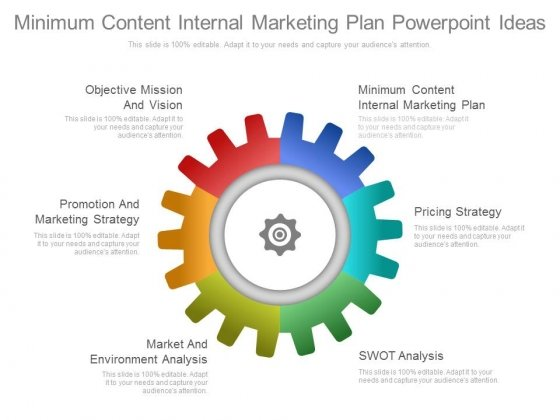Minimum Content Internal Marketing Plan Powerpoint Ideas