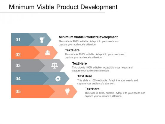 Minimum Viable Product Development Ppt PowerPoint Presentation Summary Example Cpb
