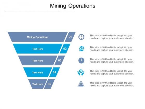 Mining Operations Ppt PowerPoint Presentation Summary Deck Cpb Pdf