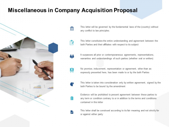 Miscellaneous In Company Acquisition Proposal Ppt PowerPoint Presentation Summary Slide Download