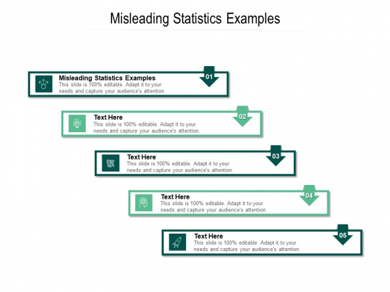 Misleading Statistics Examples Ppt PowerPoint Presentation Layouts Format Cpb Pdf