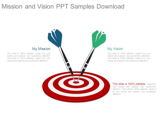 Mission And Vision Ppt Samples Download