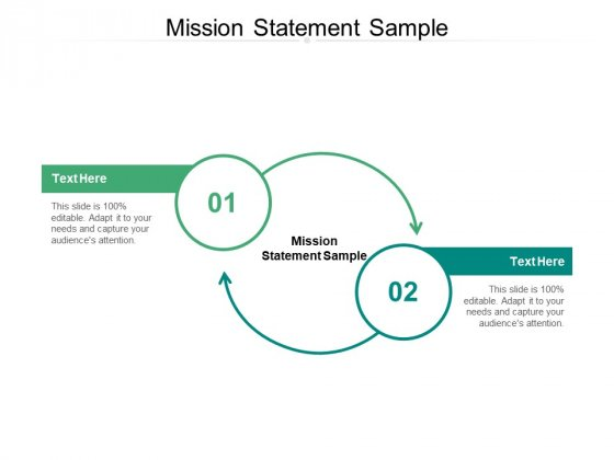 Mission Statement Sample Ppt PowerPoint Presentation Ideas Infographics Cpb