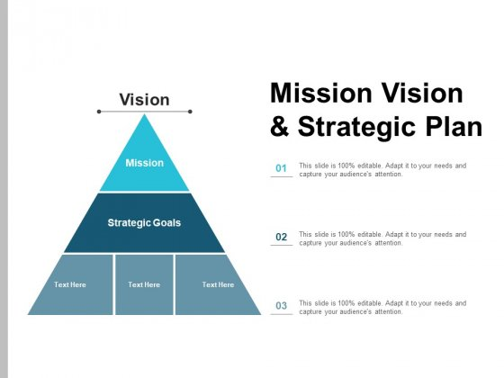 Mission Vision And Strategic Plan Ppt PowerPoint Presentation Gallery Icons