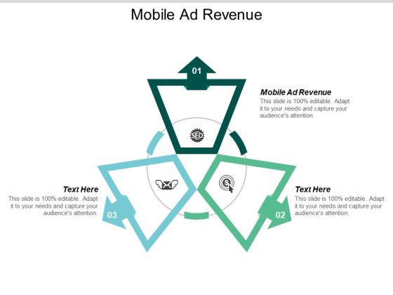 Mobile Ad Revenue Ppt PowerPoint Presentation Portfolio Slide Cpb