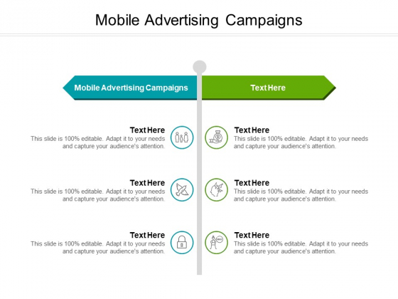 Mobile Advertising Campaigns Ppt PowerPoint Presentation Visual Aids Background Images Cpb Pdf