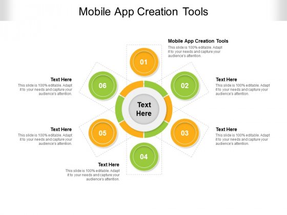 Mobile App Creation Tools Ppt PowerPoint Presentation File Visual Aids Cpb Pdf