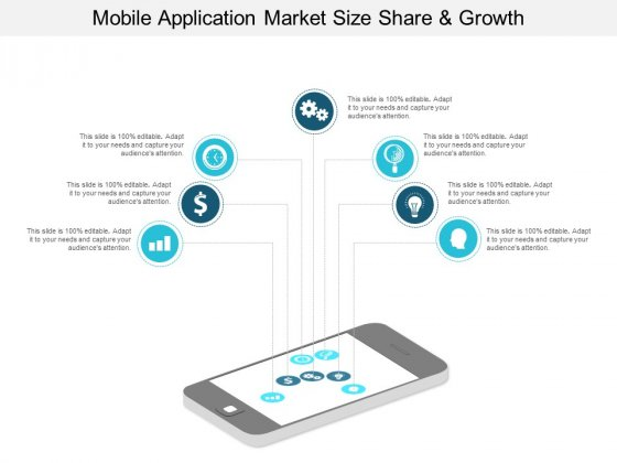 Mobile Application Market Size Share And Growth Ppt PowerPoint Presentation Outline Rules