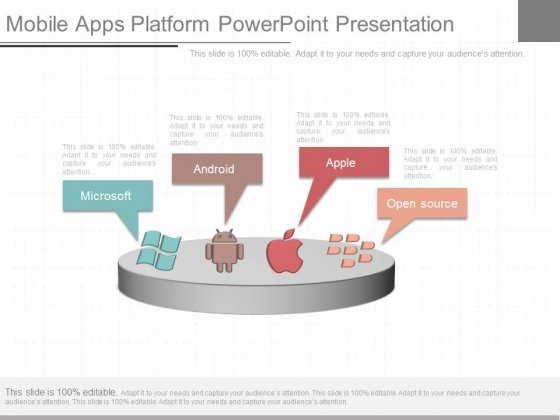 Mobile Apps Platform Powerpoint Presentation