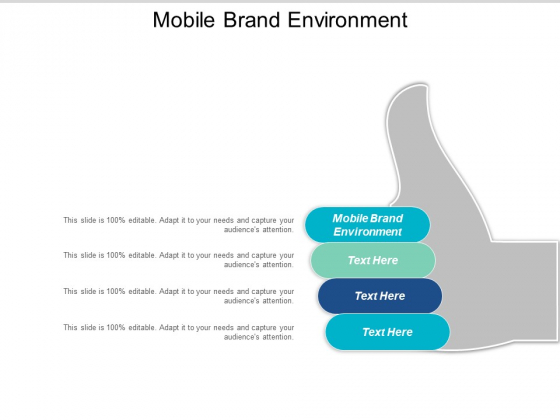 Mobile Brand Environment Ppt PowerPoint Presentation Summary Professional Cpb