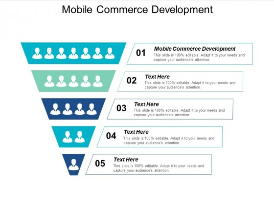 Mobile Commerce Development Ppt PowerPoint Presentation Visual Aids Example File Cpb