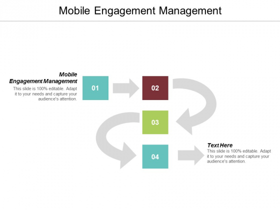 Mobile Engagement Management Ppt PowerPoint Presentation Inspiration Images Cpb