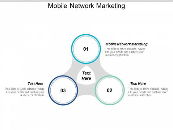 Mobile Network Marketing Ppt PowerPoint Presentation Pictures Summary Cpb