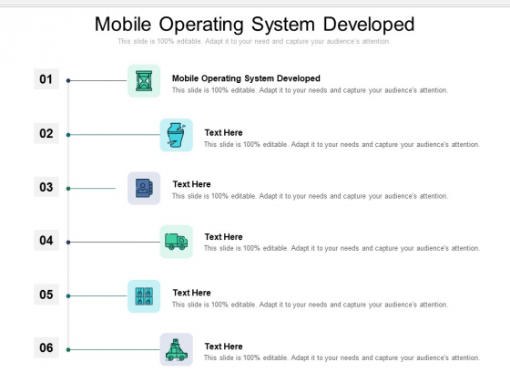 Mobile Operating System Developed Ppt PowerPoint Presentation Design Ideas Cpb Pdf