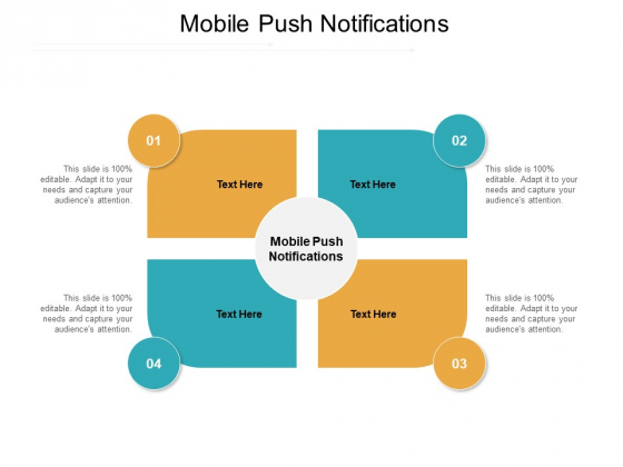 Mobile Push Notifications Ppt PowerPoint Presentation Guidelines Cpb Pdf