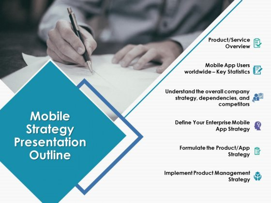Mobile Strategy Presentation Outline Ppt Powerpoint Presentation Outline Demonstration