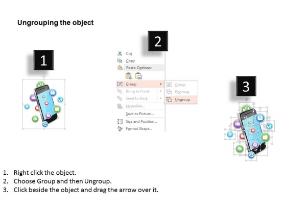 Mobile_With_Apps_For_Technology_And_Communication_Powerpoint_Template_3