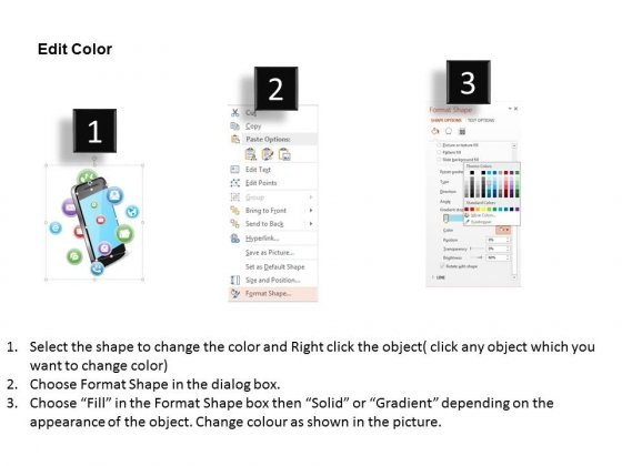 Mobile_With_Apps_For_Technology_And_Communication_Powerpoint_Template_4