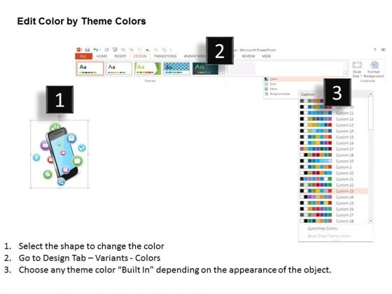 Mobile_With_Apps_For_Technology_And_Communication_Powerpoint_Template_5