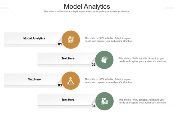 Model Analytics Ppt PowerPoint Presentation Icon Deck Cpb Pdf