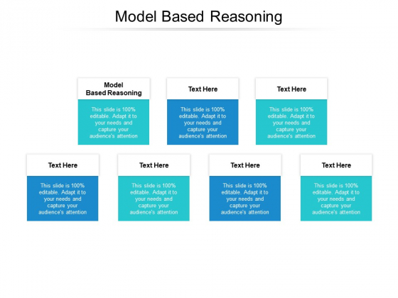 Model Based Reasoning Ppt PowerPoint Presentation Styles Graphics Example Cpb