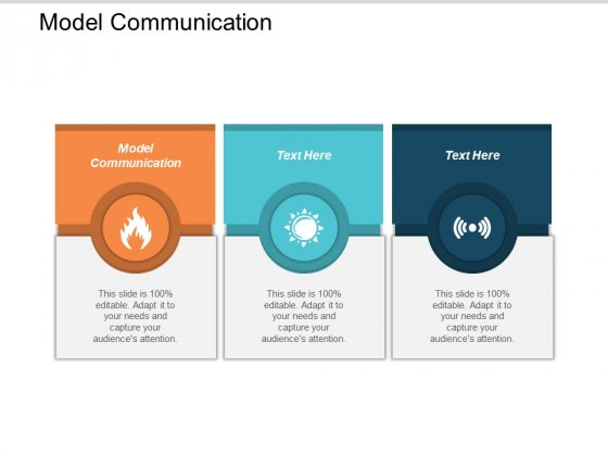 Model Communication Ppt Powerpoint Presentation Ideas Maker Cpb