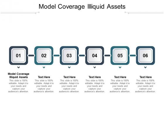 Model Coverage Illiquid Assets Ppt PowerPoint Presentation Pictures Slide Portrait Cpb Pdf