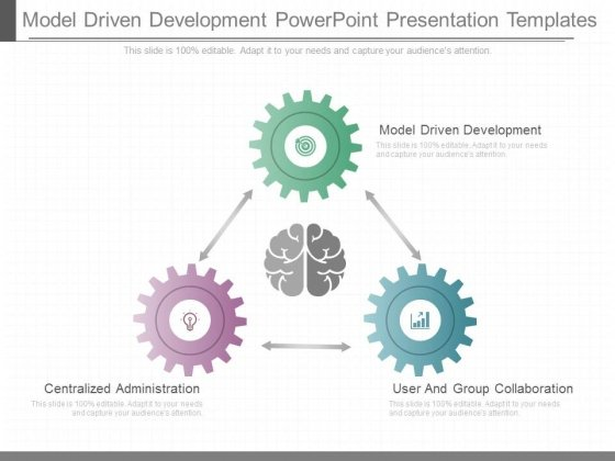 Model Driven Development Powerpoint Presentation Templates