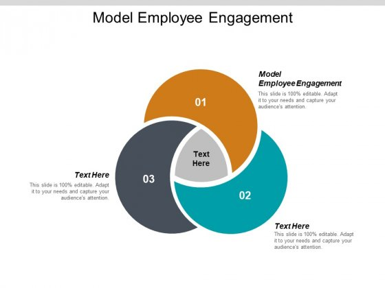 Model Employee Engagement Ppt PowerPoint Presentation Inspiration Display Cpb