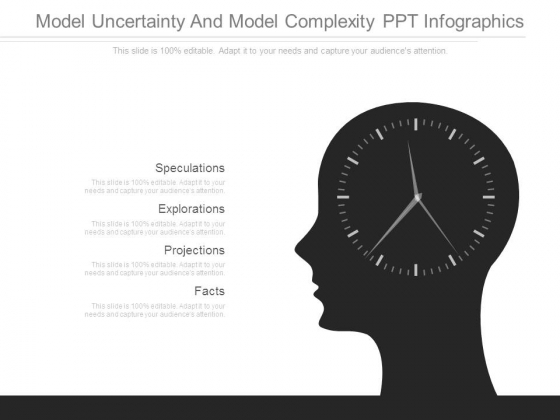 Model Uncertainty And Model Complexity Ppt Infographics