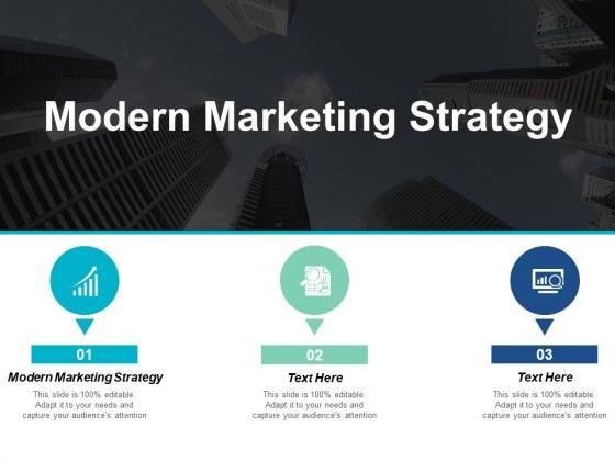 Modern Marketing Strategy Ppt PowerPoint Presentation Portfolio Example Topics Cpb